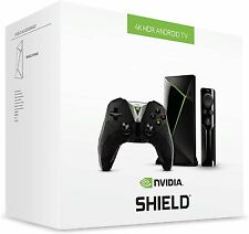 NEW NVIDIA SHIELD TV Streaming Media Player Console Controller Remote Bundle