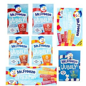 Mr freeze ice pops mr freeze jubbly ice lollies freezable ice pops party lollies