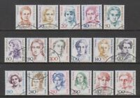 Germany (Berlin) - 1986, Famous German Women set - F/U - SG B732/48