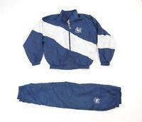 Vtg 90s Mens Large Penn State University 2 Piece Warm Up Jacket Joggers Pants