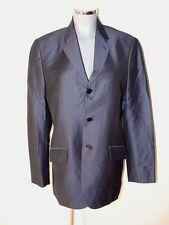 Anzug Hose Gr46 Jacke Gr52 in dunkelblau Nadelstreifen Marke Springfield