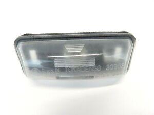 08-14 Subaru Impreza WRX STI License Plate Light Housing Lamp Trunk Bumper Rear