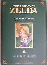 The Legend of Zelda vol 1 Ocarina of Time Legendary Edition paperback manga