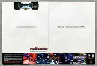 Rollcage PS1 Playstation | 1999 Vintage Game Print Ad Poster Art Official Rare