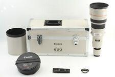 【 N MINT w/ Original CASE & HOOD 】 Canon EF 600mm f/4 L USM Lens from JAPAN