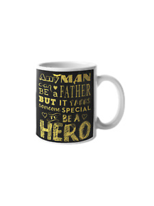 Hero Father Daddy Son Daughter Gift For Dad Ceramic Novelty Coffee Mug Family