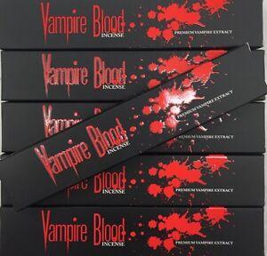 Vampire Blood 6 Packsx15g Incense Sticks- Bulk Packs
