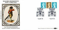 8 JANUARY 1985 4 & 34p DEFINITIVES BENHAM D 25 FIRST DAY COVER LONDON SW1 SHS