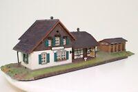 Kibri 43518 H0 Bahnhof Laufenmühle fertig aufgebaut sehr schön