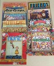 Lot of 10 Mary Engelbreit Calendars 1993 1997 1998 2000-2003 2005 2007 2008