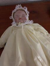 Riesen Porzellan Puppe Künstlerpuppe Porzellanpuppe 70 er Jahre 70 cm 66592 Anja