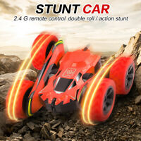 RC Stunt Car Remote Control Cars 360° Rotate Rock Crawler 2.4G Off Road Truck