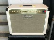Marshall DSL40C 40-Watt 1x12 Tube Guitar Combo Amp, White Limited Tolex