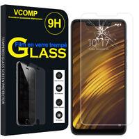 """Lot/ Pack Film Verre Trempe Protecteur pour Xiaomi Pocophone F1/ Poco F1 6.18"""""""