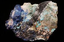 RARE Combo Azurite & Turquoise BISBEE, ARIZONA -Ex. Cline
