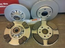 Front Vented Brake Discs Renault Trafic 2.0 dCi 90 Box 2006-13 90HP 305mm