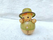 1930s Vintage Always Standing Doll Celluloid Toy Collectables Decorative Japan