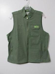 NEW Women's REI Co-op Adventure Vest Lightweight, Vented Pine Green