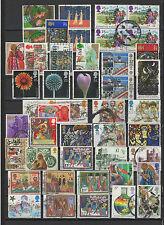 1960/1980 GRANDE-BRETAGNE   40 timbres anciens oblitérés /T1230
