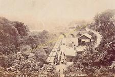 Colinton Railway Station Photo. Jumiper Green - Slateford. Currie to Gorgie. (3)
