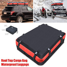1×Car SUV Roof Top Cargo Bag Waterproof Luggage Rooftop Travel Storage Organizer