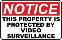 Video Surveillance..SECURITY SIGN- #PS-401