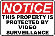 Video Surveillance.Security Sign- #Ps-401