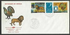 Senegal #C147a 1979 Philexafrique triptych with label on FDC