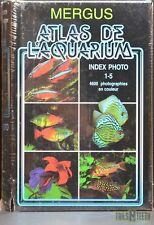 Mergus Atlas De L'Aquarium Index Photo 1-5 (FRENCH Edition) **NEW Sealed**