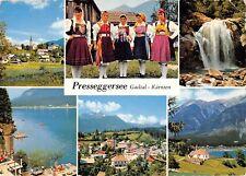 GG8933 presseggersee gailtal karnten types folklore costumes   austria