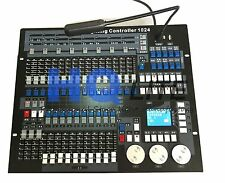 lighting Console 1024 DMX Controller 1pcs with flight case for DJ  Pro Light