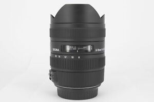 Sigma AF 8-16mm F4.5-5.6 DC HSM Canon Lens  - Virtually Mint Condition - Ex-D...
