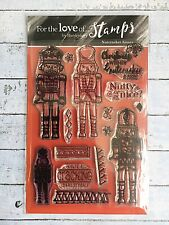 Hunkydory For The Love Of Stamps Nutcracker Kisses Stamp Set