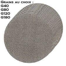 10 disques à poncer 225 mm grille treillis pour ponceuse à placo girafe plâtre