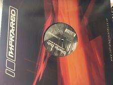 """Sonda de Dj & Sylo-gueto Dub/trampa cazabobos 12"""" Drum and Bass Vinilo Infrarrojo Records"""