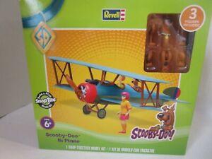 Revell Scooby-Doo Bi Plane SnapTite Model Kit No Glue Shaggy Velma Scooby NEW