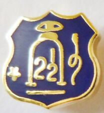 SMALL ORANGE ORDER LAPEL BADGE 2 1/2 LOYALIST LOYAL KING BILLY