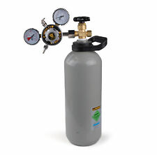 Premium Brand New 2.6kg co2 Gas Cylinder Full with regulator COMBO