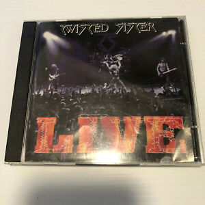 Twisted Sister Live at Hammersmith '84 (CD, May-2012, 2 Discs, Armoury...