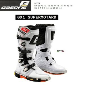 Stivali SUPERMOTARD moto GAERNE GX1 SUPERMOTARD white bianco 2187004