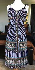 Diane Von Furstenberg Silk Sequin Beaded Dress AU8 US4