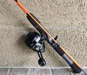 ZEBCO Spincast Combo 202 Reel w 4.5 ft 2 piece ZEBCO Orange Hot Cast rod