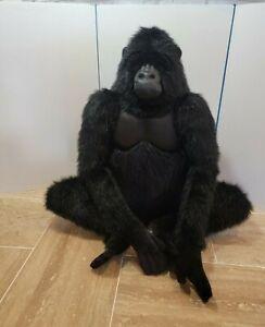 "Hansa Realistic Life-Like Gorilla 31"" tall Muscular Features Artisian Made"
