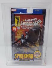 AFA SPIDER-MAN CLASSICS (BLACK) TOY BIZ 2001 MARVEL COMICS UNCIRCULATED U85NM+ !