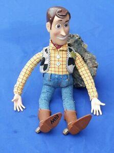 "Toy Story WOODY Pull-String Talking 15 1/2"" Inch Tall Doll-Thinkway Disney Pixar"