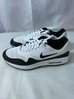 Nike Air Max 1 G Spikeless Golf Shoes White/Black CI7576-100 Men's Size 11 New