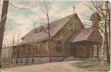 Trinity Church Mt. Pocono Pa Postcard