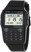 Casio DBC-32-1A 25 Page Databank Watch Calculator Illuminator Resin BRAND NEW