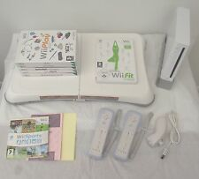 Wii CONSOLE+Wii FIT+65 GAMES INCLUDING A FREE  YEARS WARRANTY