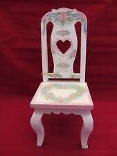 Enesco  1998 Mary Hughes Wood Mini Chair  NIB  (2NU )  339708